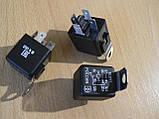 Реле 5 контактное 30А универсальное 98.3777 12В ЭМИ Пенза с кронштейном ухом под фишку крест 1шт, фото 2