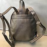 Рюкзаки с двухсторонними паетками (СЕРЕБРО)21*26см, фото 3