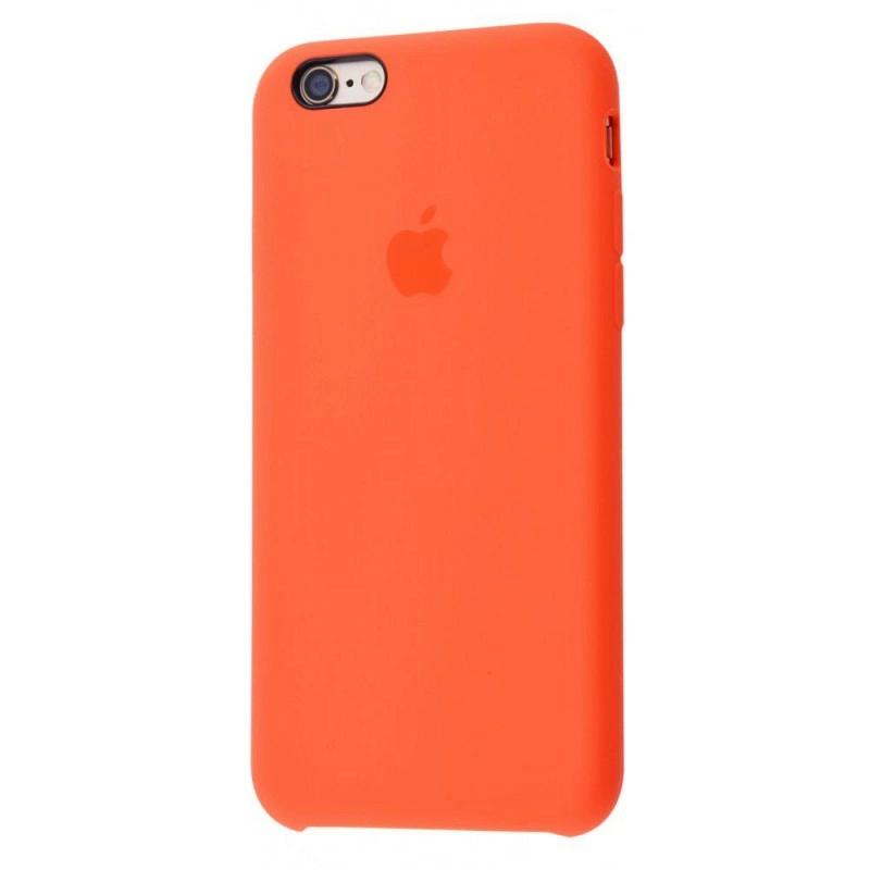 Чохол Silicone Case (Premium) для iPhone 6 / 6s Spicy Orange