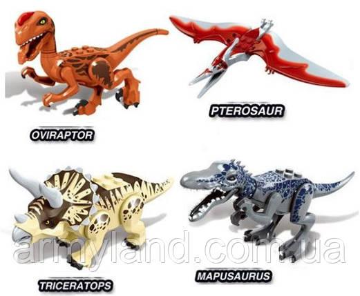 Конструктор Набор №11 Динозавров 4шт , аналог Лего, фото 2