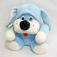 Мягкая игрушка Zolushka Собака Пегус 36см голубая (1632)