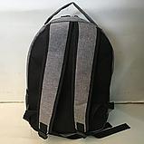 Спортивные текстильные рюкзаки NIKE (СЕРНЫЙ)28х38см, фото 3