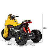 Мотоцикл  детский электро с педалью Bambi 4193EL, фото 7