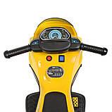 Мотоцикл  детский электро с педалью Bambi 4193EL, фото 5