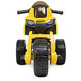 Мотоцикл  детский электро с педалью Bambi 4193EL, фото 4