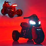 Мотоцикл  детский электро с педалью Bambi 4193EL, фото 3