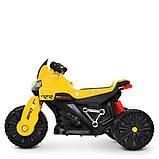Мотоцикл  детский электро с педалью Bambi 4193EL, фото 2