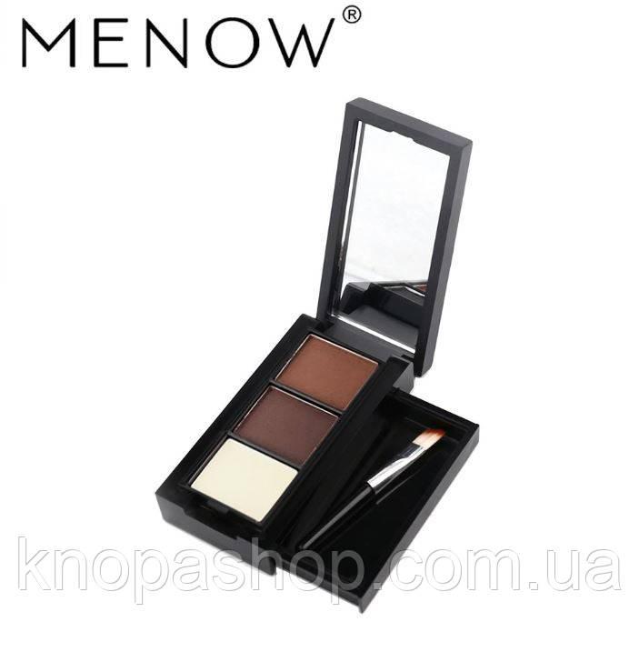 Тени для бровей Menow №2
