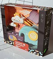 Игрушка для ванны, для купания водопад Веселый слоник DM502