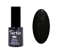 Гель-лак №054 Tertio, Черно-зеленый с микроблеском, фото 1