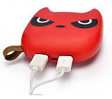 Power Bank ANAN Злой бэтмен 12000 mAh Красный. Внешний аккумулятор Bank Totoro Littl, фото 5