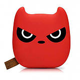 Power Bank ANAN Злой бэтмен 12000 mAh Красный. Внешний аккумулятор Bank Totoro Littl, фото 9
