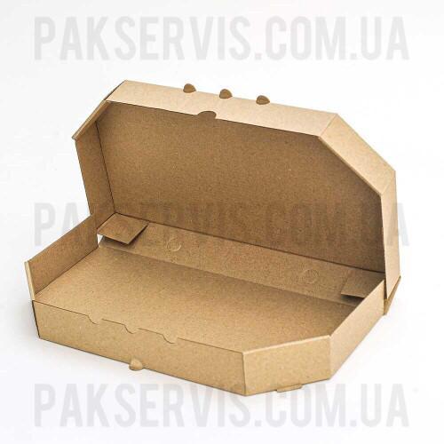 Коробка для пиццы 320х160х40 бурая 1/50