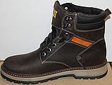 Ботинки зимние мужские кожаные от производителя модель ВР711-1, фото 2
