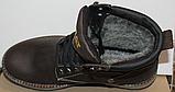 Ботинки зимние мужские кожаные от производителя модель ВР711-1, фото 4