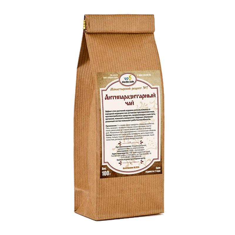 Монастырский чай от Курения, Чай против курения, лечебный чай, травяной сбор, 100 г. Беларусь