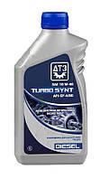 Масло моторное ДТЗ TURBO SYNT DIESEL 10W-40 API CF-4/SG, канистра 1л. ПЭ