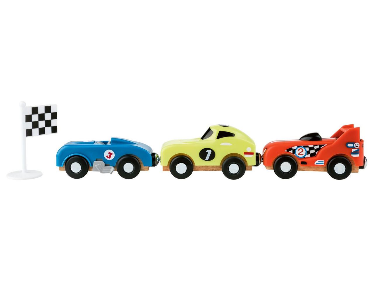 Набор спортивных машин для деревянной дороги PLAYTIVE JUNIOR
