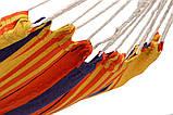 Гамак двухместный Оранжевый XXL, фото 3