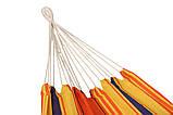 Гамак двухместный Оранжевый XXL, фото 4
