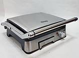 Гриль и барбекю контактный прижимной DSP KB1045 со съемными пластинами, бытовая электрическая техника для дома, фото 7