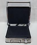 Гриль и барбекю контактный прижимной DSP KB1045 со съемными пластинами, бытовая электрическая техника для дома, фото 9