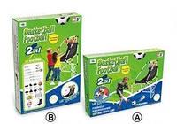 Набір 2 в 1 футбол і баскетбол для хлопчиків від 3 років. Дитяча рухлива і змагальна гра