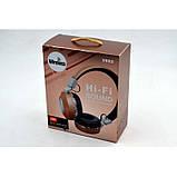 Беспроводные наушники на аккумуляторе с Bluetooth MP3 и FM-приемником V682. Гарнитура для телефона и ПК, фото 4