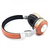 Беспроводные наушники на аккумуляторе с Bluetooth MP3 и FM-приемником V682. Гарнитура для телефона и ПК, фото 7