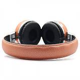 Беспроводные наушники на аккумуляторе с Bluetooth MP3 и FM-приемником V682. Гарнитура для телефона и ПК, фото 9