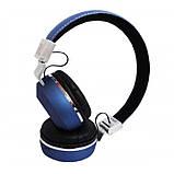 Беспроводные наушники на аккумуляторе с Bluetooth MP3 и FM-приемником V682. Гарнитура для телефона и ПК, фото 10