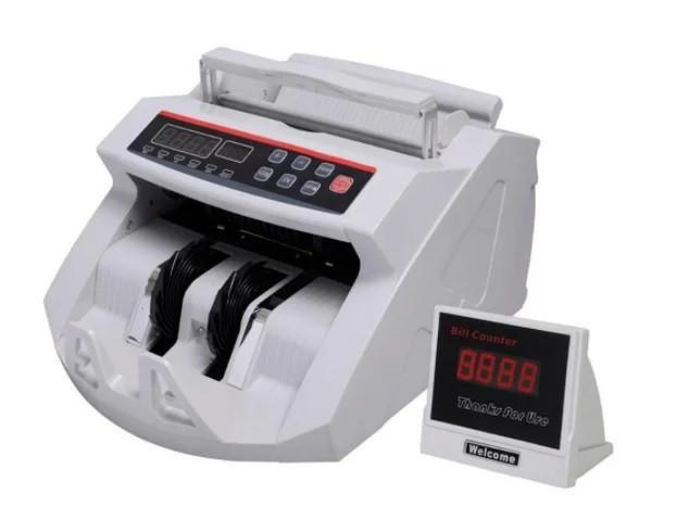 Денежно-счетная машинка сортировщик для счета денег bill counter 2018 с детектором валют и выносным дисплеем