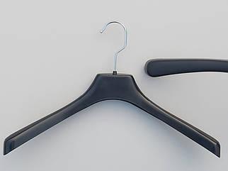 Вішаки пластмасові №2 чорного кольору, довжина 38 см