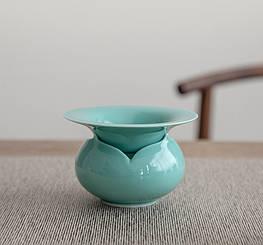Чайний керамічний фільтр у формі лотоса