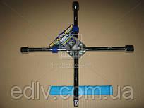 Ключ хрестової посилений, з центр. пластиною, хром 17X19X21X1/2 мм. arm-1/2