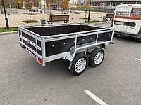 Причіп легковий бортовий двовісний Оптима 2500х1500 ціна без коліс, фото 1