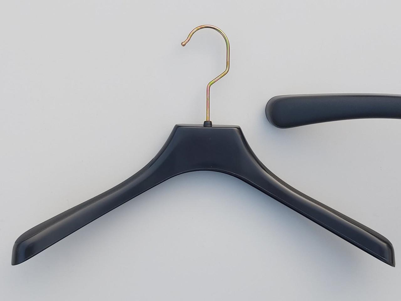 Плечики пластмассовые №1 черного цвета, длина 36 см