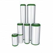 Картридж трехслойный  для холодной воды Aquafilter FCCBKDF-L 20 дюймов Slim (Аквафильтр Слим)