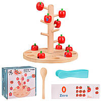 Деревянная игрушка, обучающее дерево