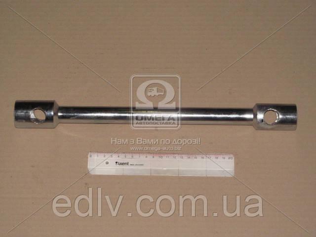 Ключ балонний для вантажівок 24х27х405мм хром arm25-2427
