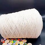 100% кашемир FULLONICA - бобинная пряжа для машинного и ручного вязания, фото 2