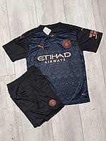 Футбольная форма Манчестер Сити (FС Manchester City) . Сезона 2020-2021