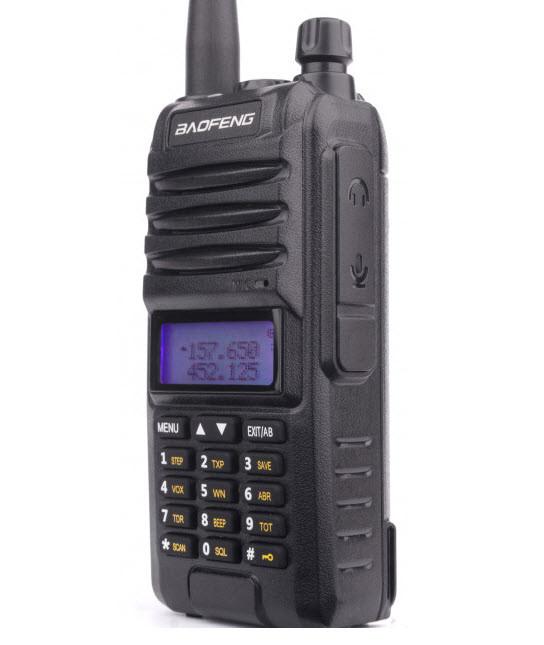 Baofeng BF-A58S, трехдиапазонная рація, радіостанція, акумулятор 2800 mAh.