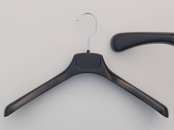 Плечики пластмассовые  продается лотом  16 штук  по 10 грн, черного цвета, длина 40 см, фото 2