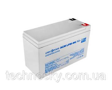 Акумуляторна батарея LogicPower LP-MG 12-7 AH (мультигелевий, AGM)