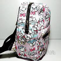Рюкзак детский для девочки текстильный, фото 3