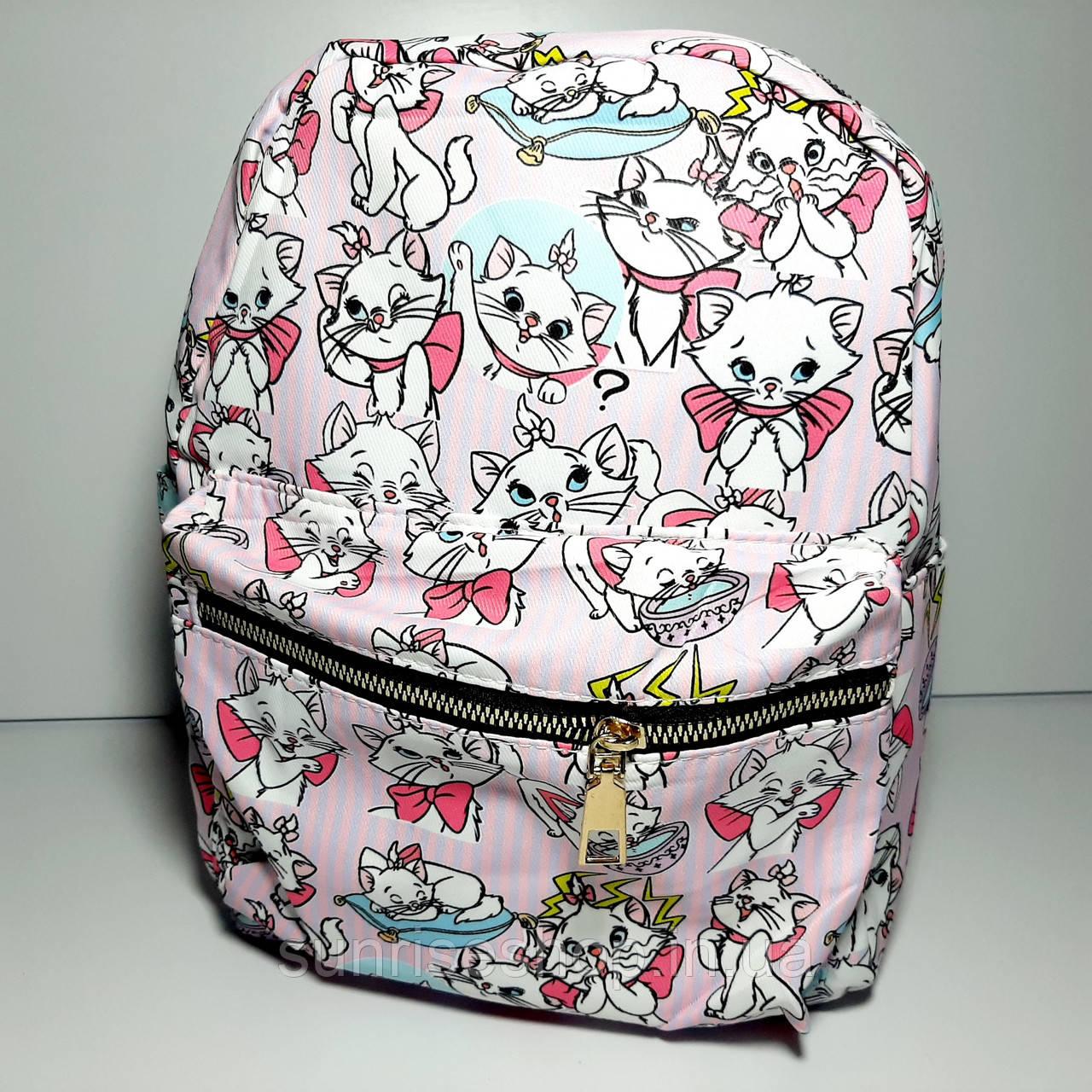 Рюкзак детский для девочки текстильный