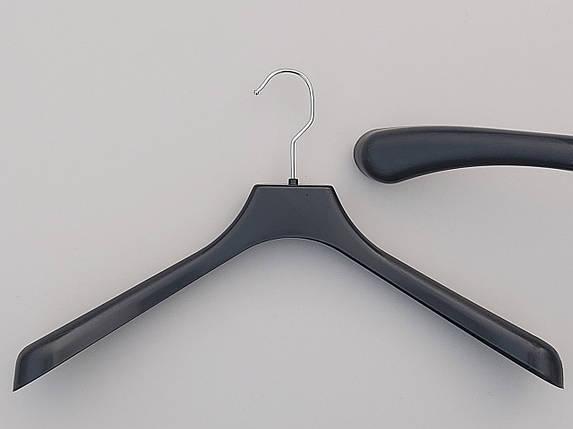 Плечики пластмассовые  продается лотом  10 штук  по 10 грн, черного цвета, длина 42 см, фото 2