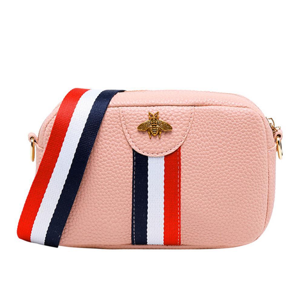 Жіноча міні-рожева сумочка код 3-428