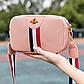 Жіноча міні-рожева сумочка код 3-428, фото 2